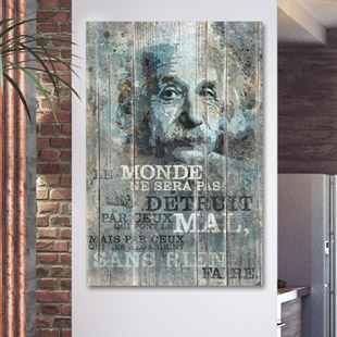 Albert Einstein citation le monde