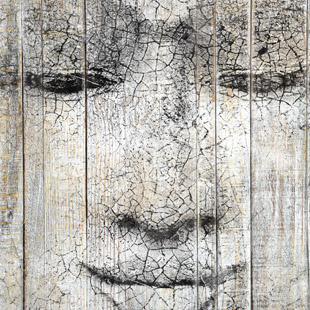 Tableaux dcoratifs effet bois for Tableau mural zen