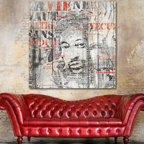 tableau palette serge gainsbourg en mots. Black Bedroom Furniture Sets. Home Design Ideas